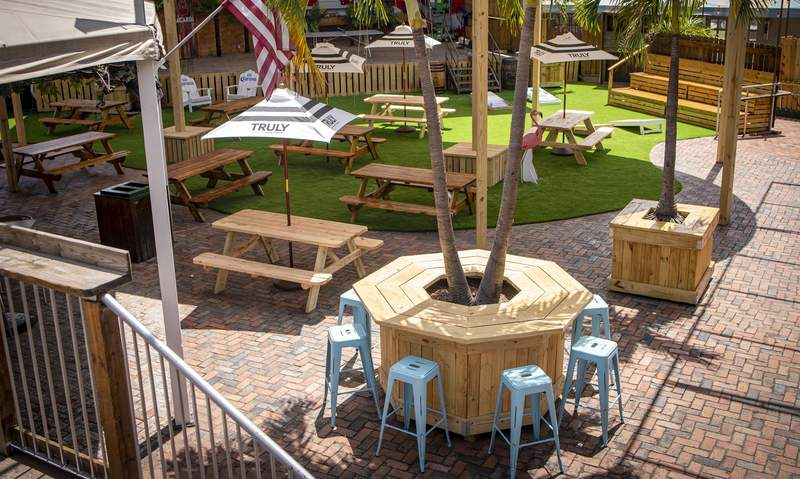 Backyard (100 SW 3rd Avenue in Fort Lauderdale) will be open Fridays, Saturdays and Sundays.