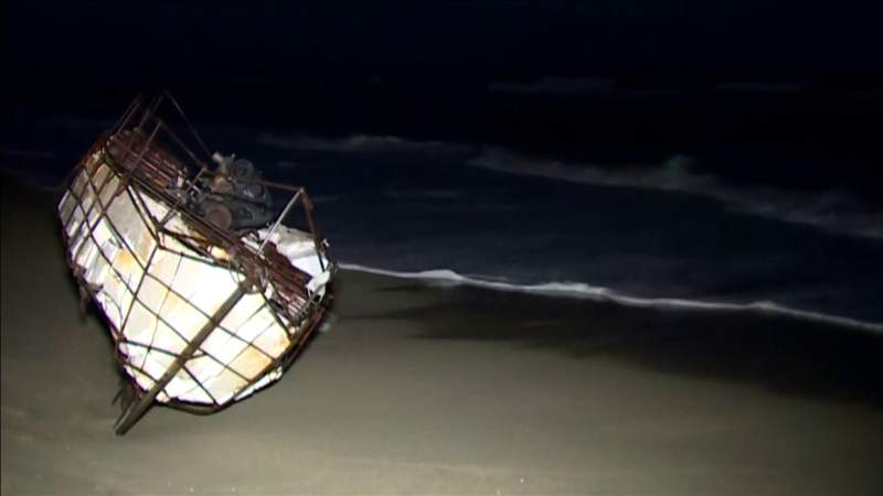 Family of Cuban migrant rescued at sea in makeshift boat waits for news