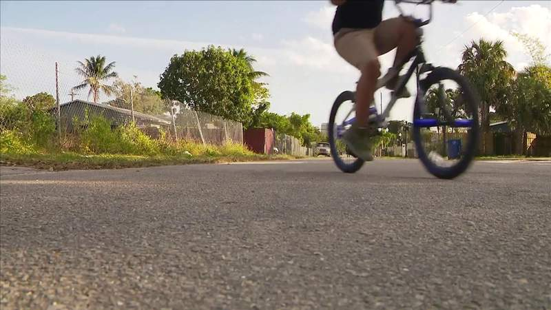 Here is what officers did after 2 men stole boy's bike in Fort Lauderdale