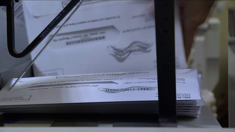 Florida vote-by-mail ballots
