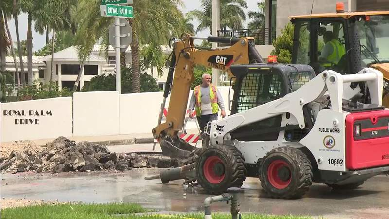 Water main break prompts Fort Lauderdale boil water advisory