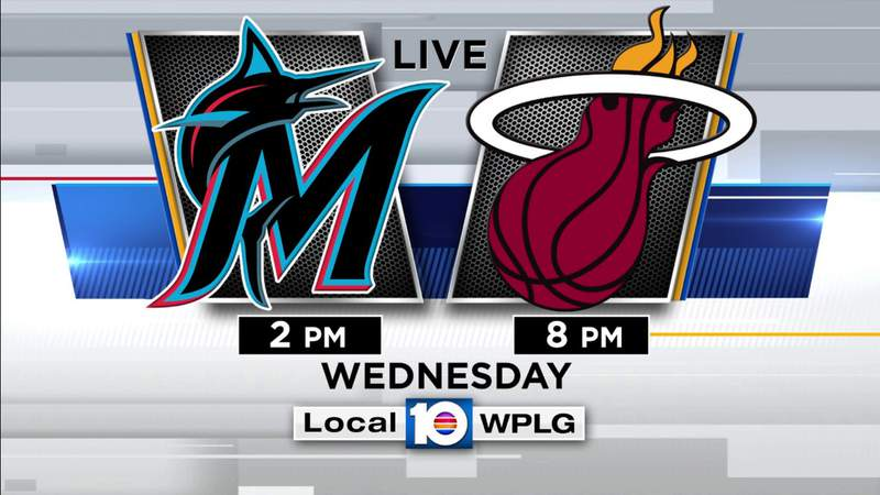 Local 10 is your home to the Marlins' postseason opener against the Cubs and Game 1 of Heat-Lakers in the NBA Finals.