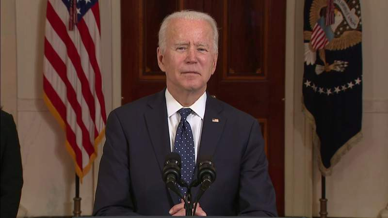 President Biden and Vice President Harris deliver remarks following Chauvin guilty verdict