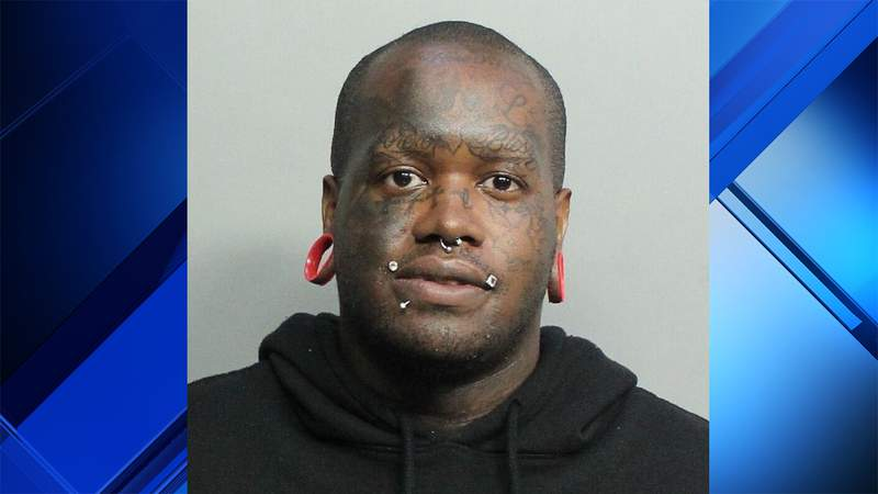 """Sadiki """"Slime"""" Spence confessed to paying for sex with a 14-year-old girl, Miami Springs police say."""