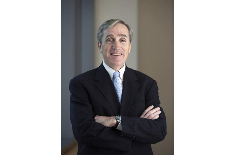 This undated photo provided by Vanguard shows Jack Brennan. Brennan, who was CEO of fund giant Vanguard from 1996 to 2008, co-wrote a book that stresses the importance of taking the long view and keeping portfolios diversified with a mix of investments to lower risk. He talked with The Associated Press about More Straight Talk on Investing: Lessons for a Lifetime. (Courtesy of Vanguard via AP)