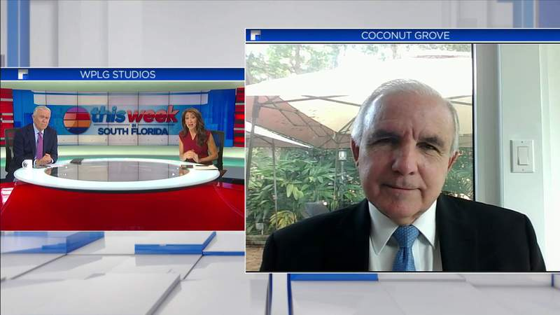 Congressman-elect Carlos Gimenez joins TWISF to discuss new challenges