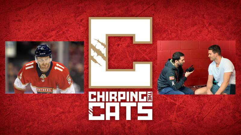 Florida Panthers star winger Jonathan Huberdeau joins the Chirping the Cats podcast.
