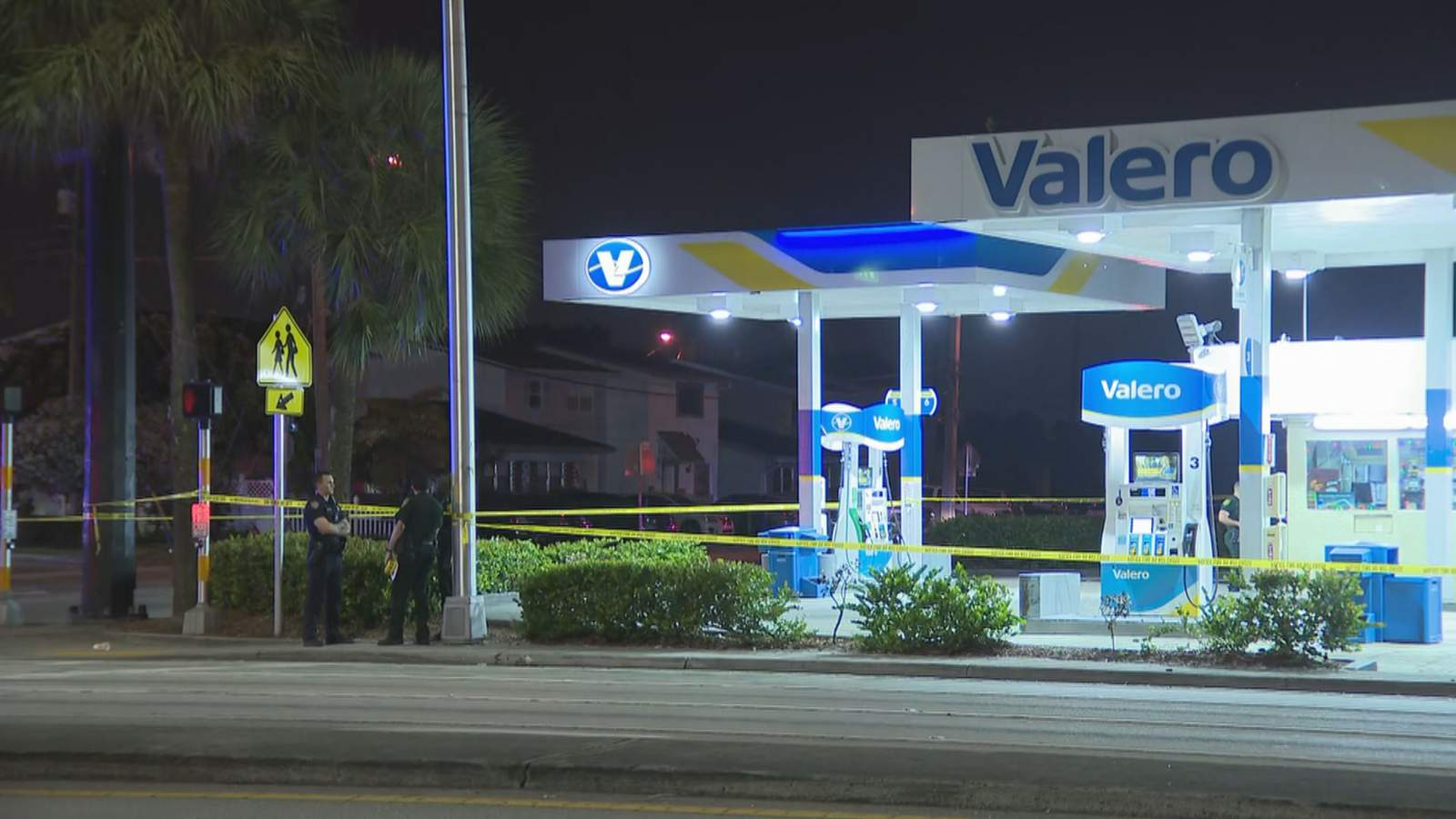 Man shot in alleged armed robbery attempt at Sunrise gas station