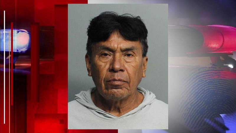 Detectives arrested David Linares on Monday as the suspect in fatal hit-and-run on Sunday in Homestead.