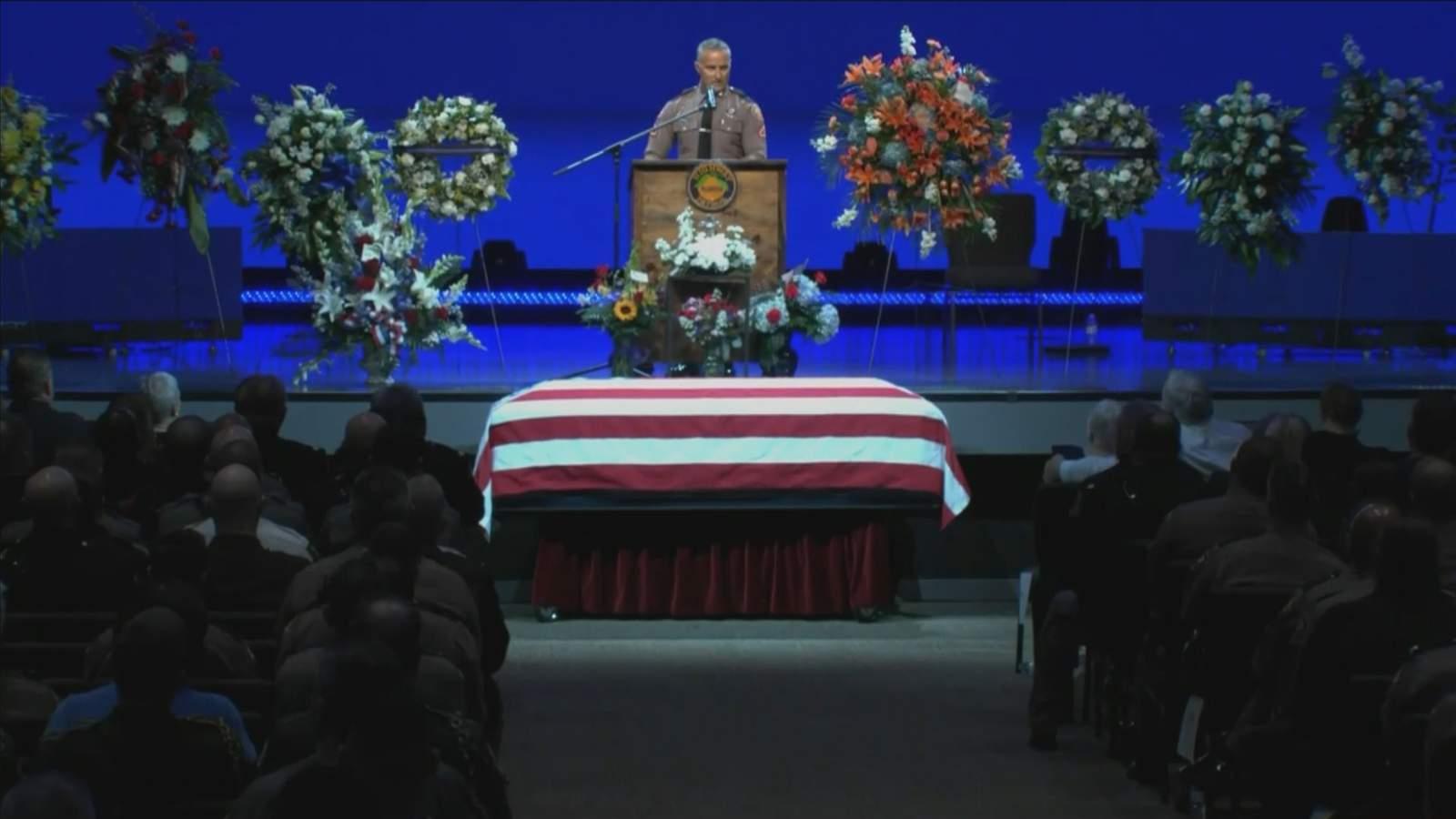 Memorial service held for trooper fatally shot on I-95