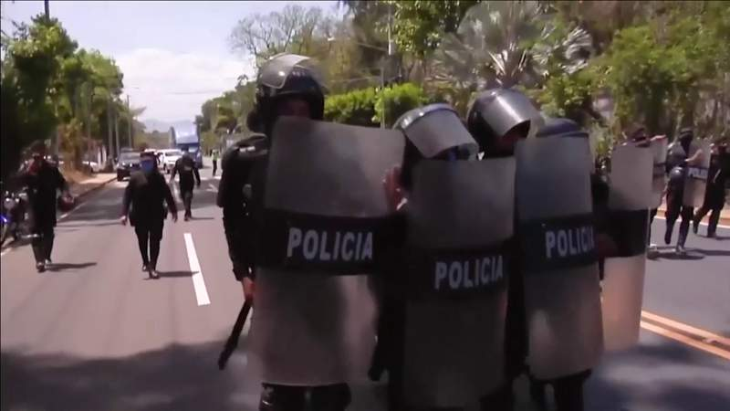 Condemnation grows against crackdown on opposition in Nicaragua