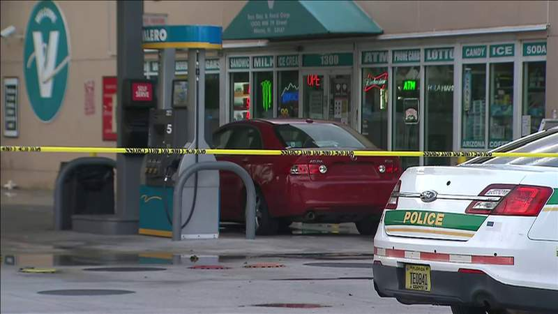Woman shoots at man attempting to rob her at gas station in Northwest Miami-Dade