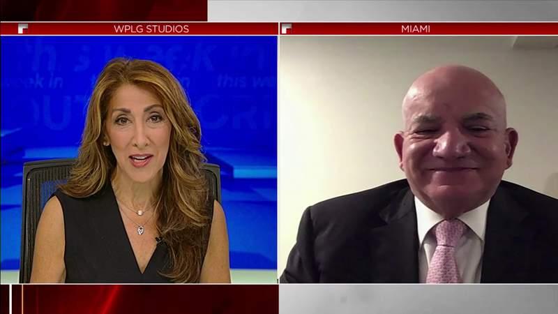 Jackson Health CEO Carlos Migoya discusses COVID-19 surge on TWISF