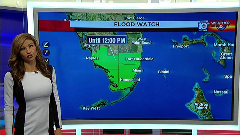 Flood watch extended in South Florida