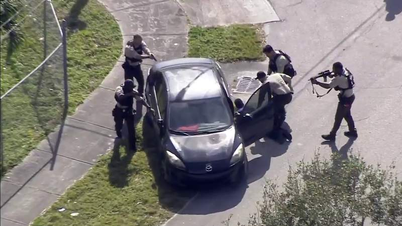 'Unreal' high-speed chase through Miami-Dade captured on video