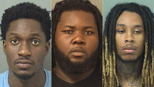 Lambert Leevensky, Egohosasere Auboraye and Keon Smith face multiple charges, including theft and extortion.