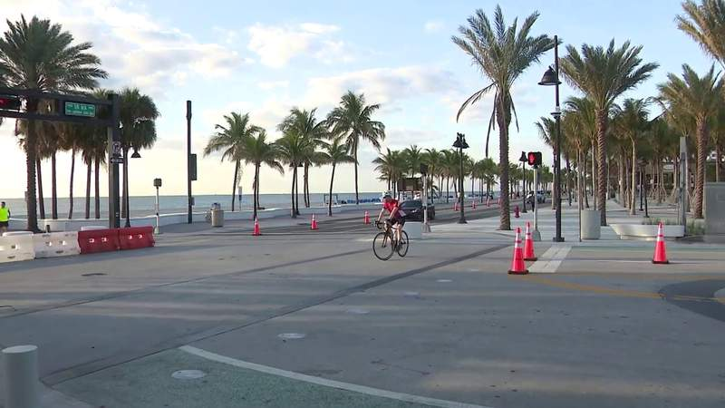 Parts of Broward County adjusting to partial reopening of public areas