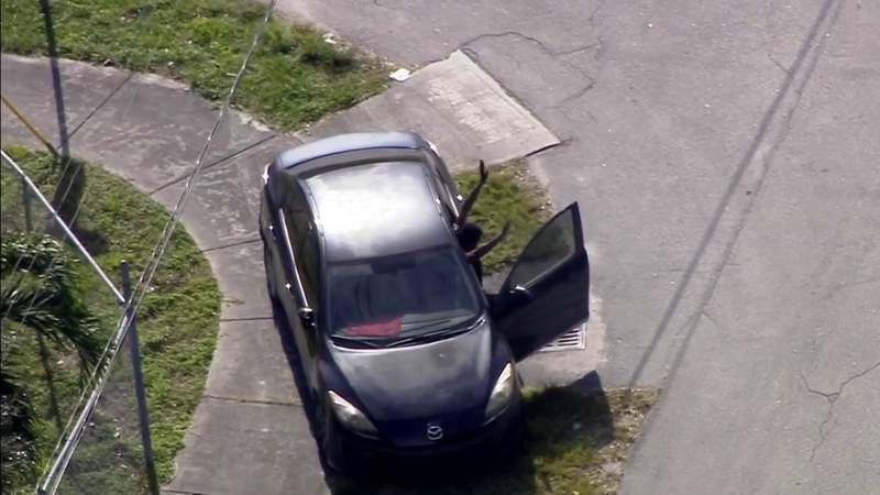 Man apprehended after wild chase through Miami-Dade highways