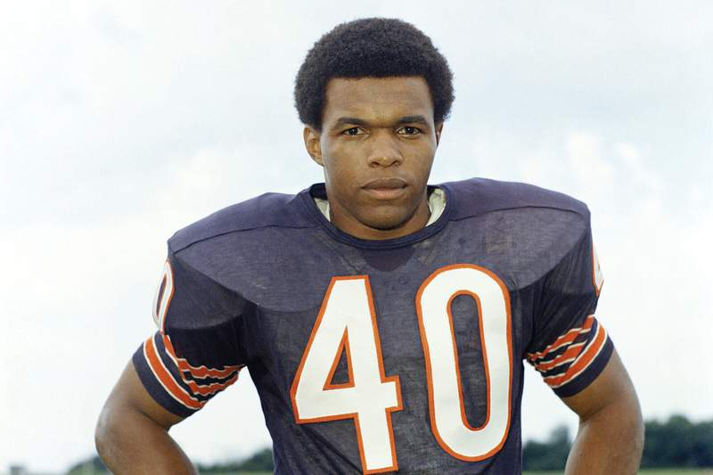 Hall of Famer Gale Sayers, who made his mark as one of the NFL's best all-purpose running backs and was later celebrated for his enduring friendship with a Chicago Bears teammate with cancer, has died. He was 77.