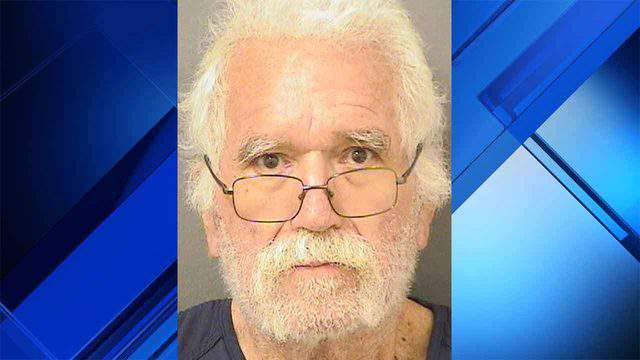 Sandy Hawkins, 73, is accused of robbing a Wells Fargo branch near Boca Raton, telling the bank teller that he gave him too much money.