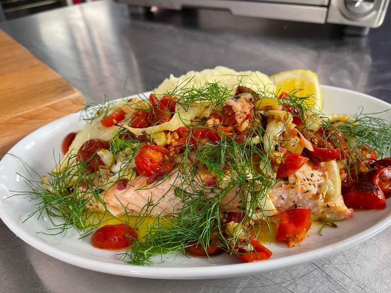 Easy And Delicious Roast Salmon
