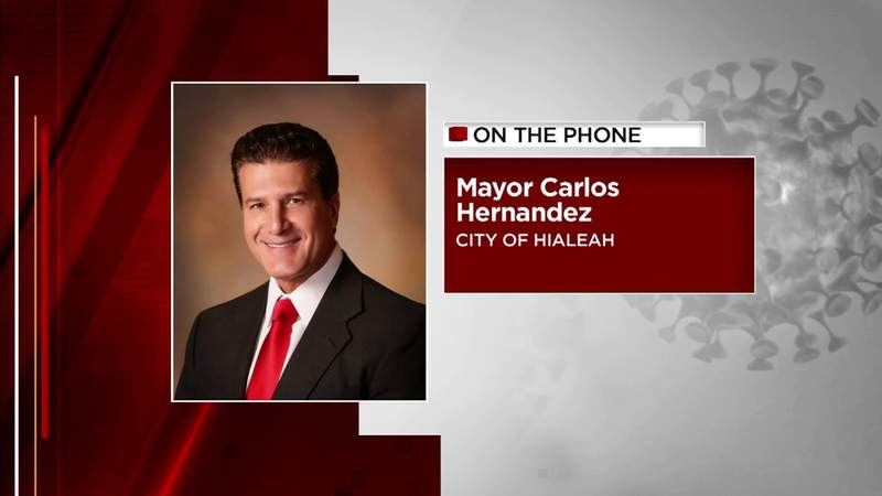 Hialeah mayor wishes Gov. DeSantis helped instead of calling out the city