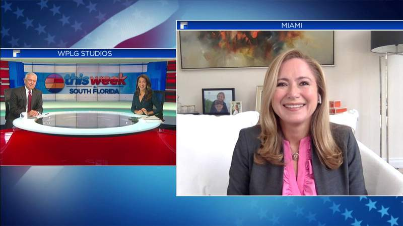 Rep. Debbie Mucarsel Powell discusses upcoming election on TWISF