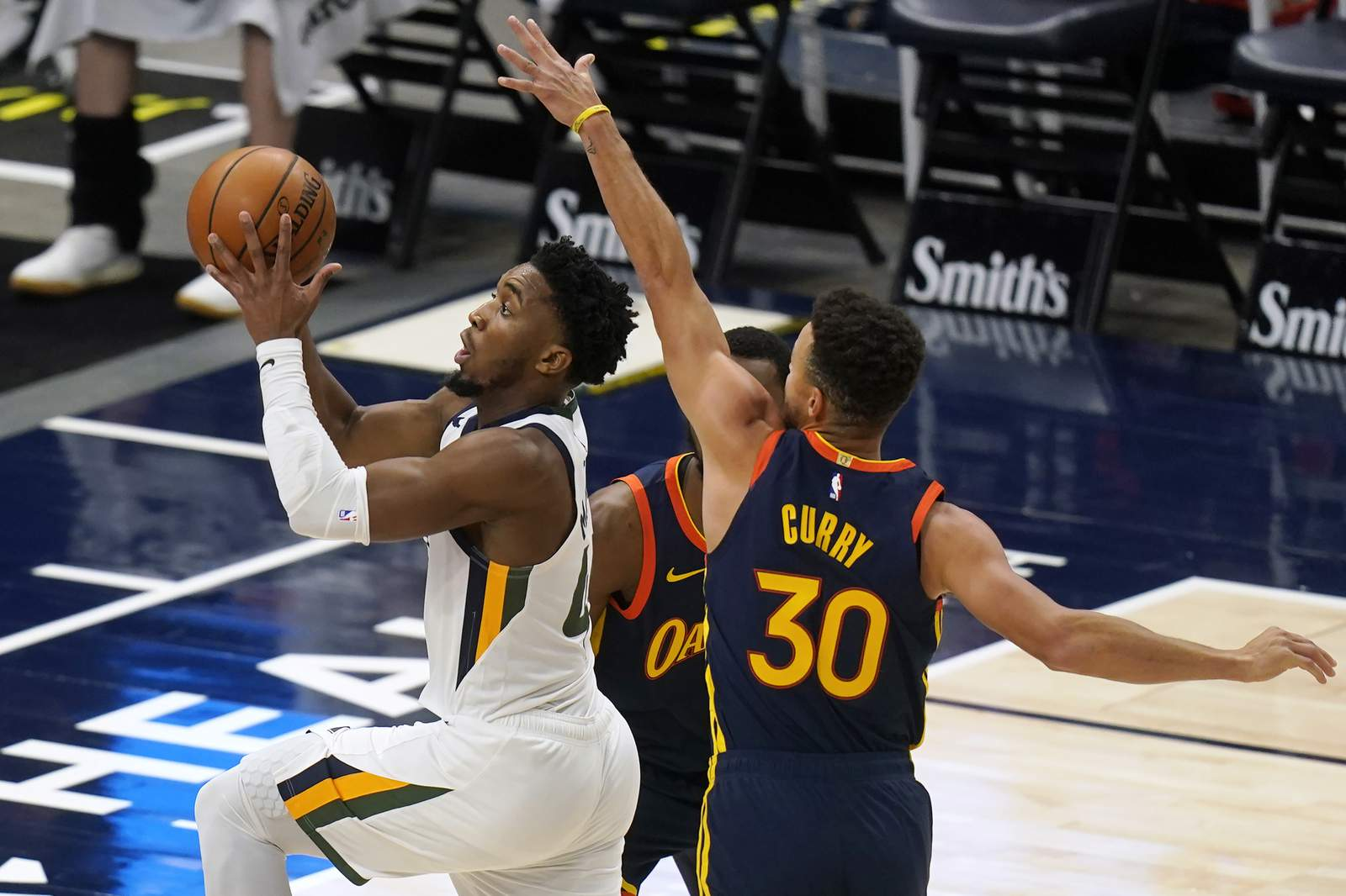 Jazz won the Warriors for eight consecutive years.Curry came in second in 3  seconds - Florida News Times