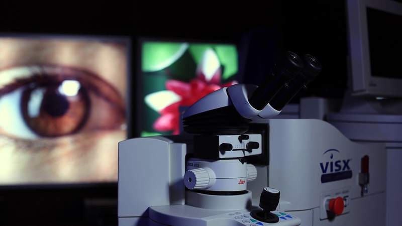 LASIK Surgery Saving People from Foggy Glasses Due to Masking