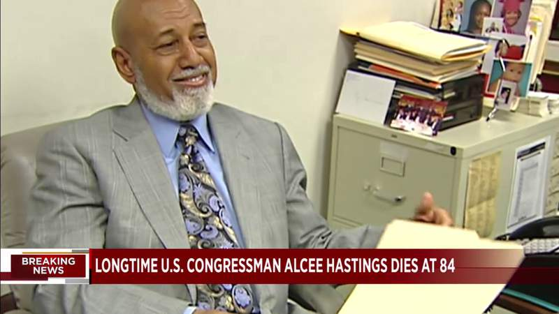 Alcee Hastings will be succeeded but he won't be replaced