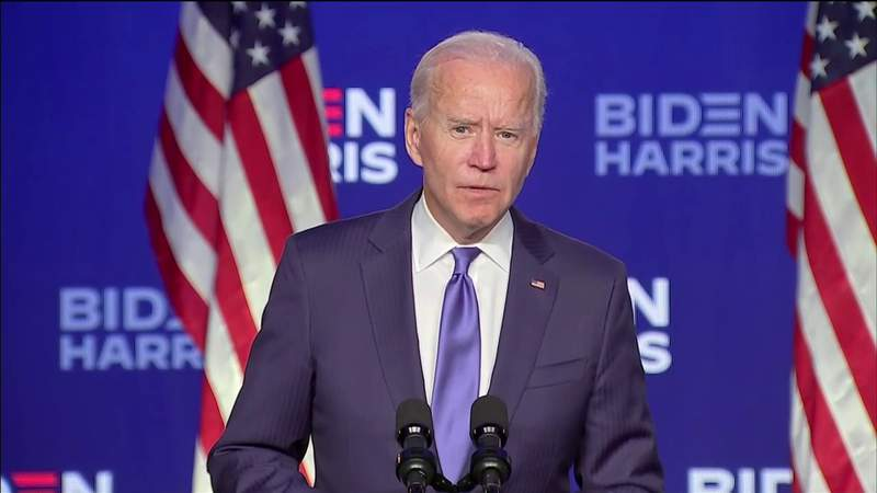 Biden says he gained 74 million votes -- more than any presidential ticket in U.S. history