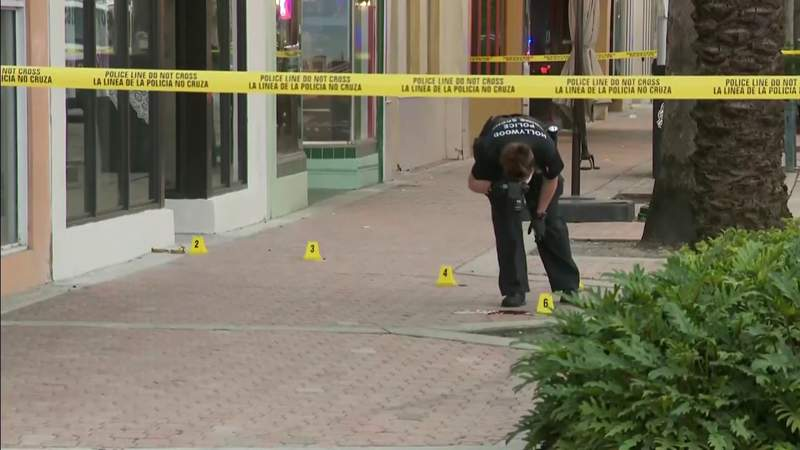 Detectives investigate fatal shooting in downtown Hollywood