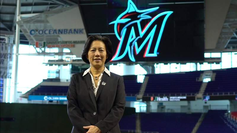 Kim Ng makes first comments as Marlins general manager