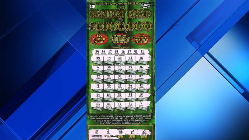 A Coral Springs resident found the fastest road to a million bucks was a trip to his local Publix grocery store.