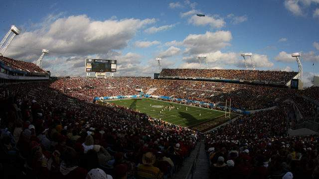 The Seminoles haven't played in Jacksonville since beating West Virginia in the 2010 Gator Bowl.