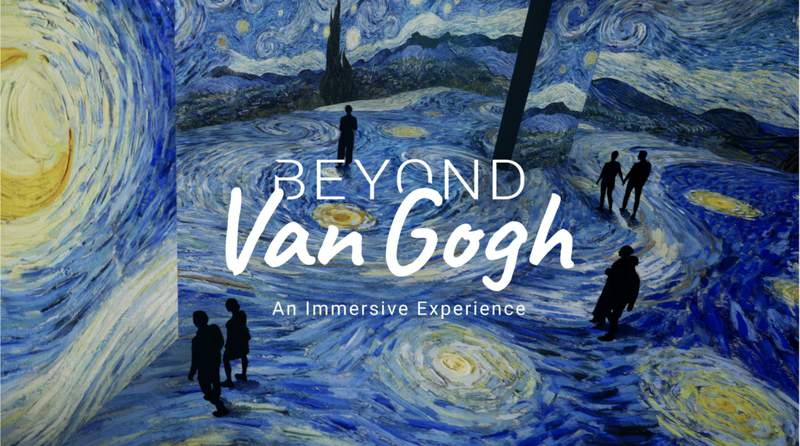 """""""Beyond Van Gogh: An Immersive Experience"""" is coming to Miami on April 15."""