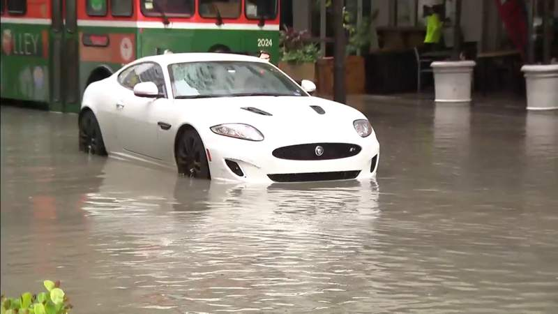 Flood advisory in effect in parts of South Florida