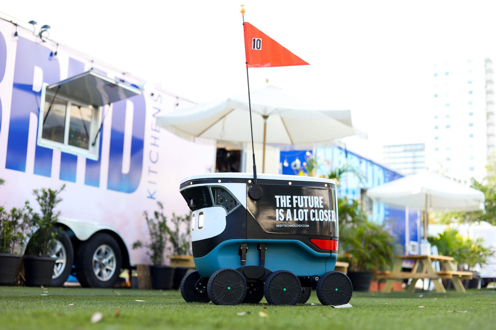 REEF robotic deliveries have arrived in Miami