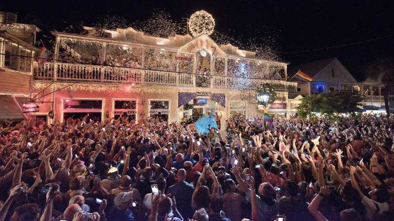No partying in the streets in Key West this New Year's Eve