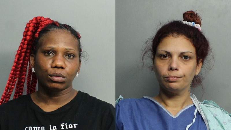From left: Temika Williams, 39, and Amalia Lisandra Gomez Alvarez, 31.