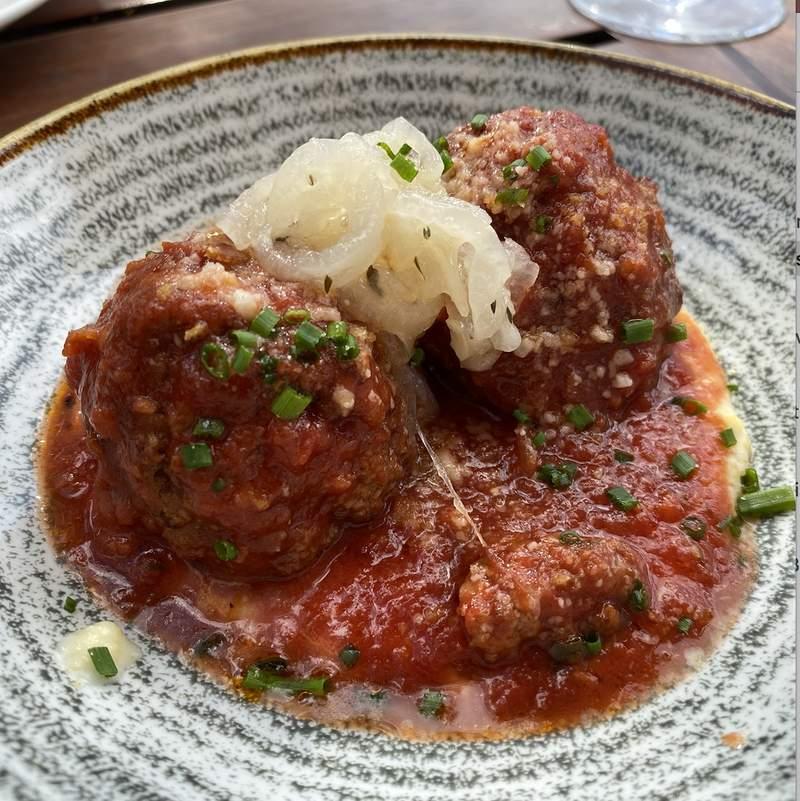 A dish by the Italian restaurant, Prato, in the city of Winter Park, Orlando, Florida.