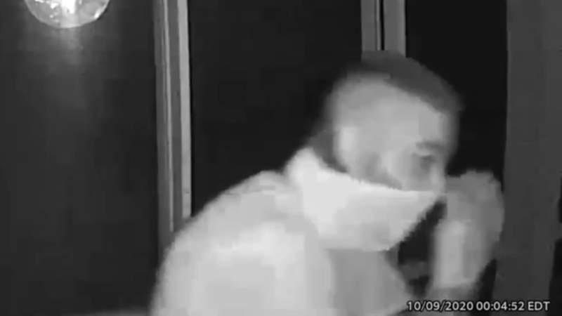 Man caught on camera broke into patio of Weston home, police say