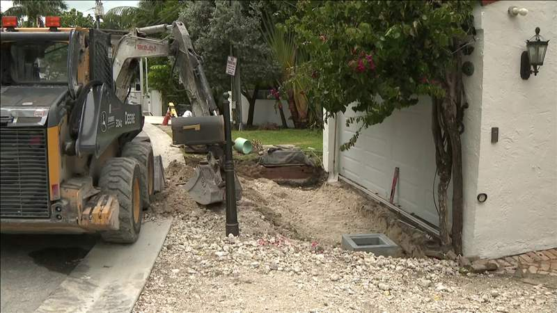 Controversial flood mitigation projects cause frustration in Miami Beach