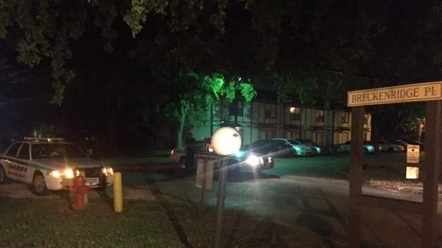 A 12-year-old boy was shot at an apartment complex on Breckenridge Place in West Palm Beach.
