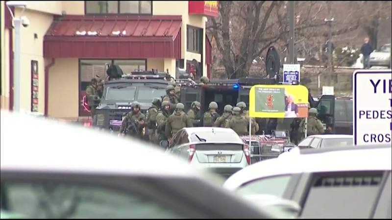 10 people killed after shooting at Colorado supermarket