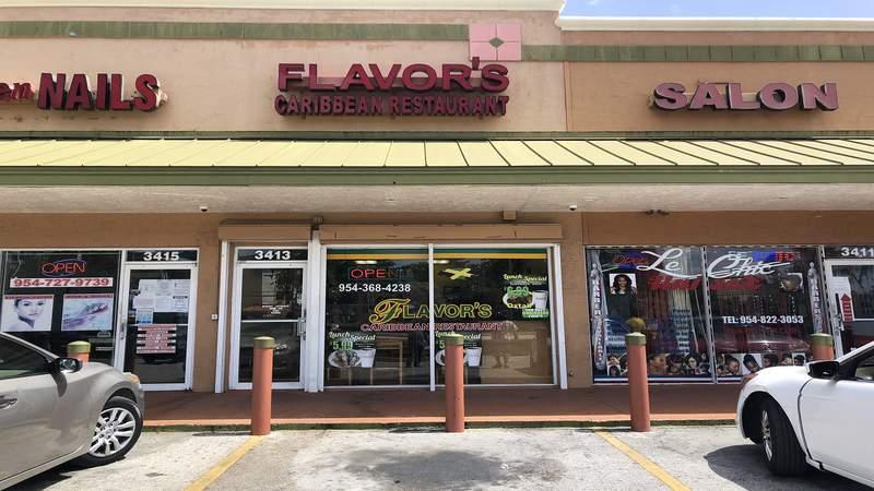 Flavors Caribbean #3 in Lauderdale Lakes.