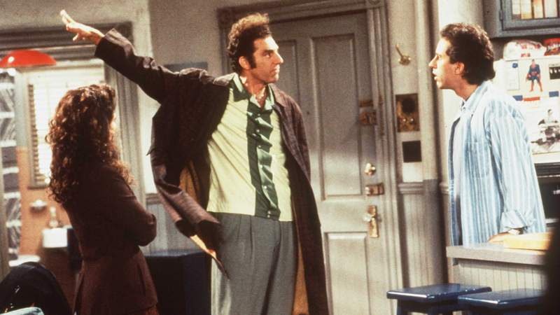 """Who wouldn't want to have a loyal neighbor like Kramer on the hit TV series """"Seinfeld."""""""