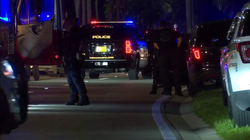 Police searching for suspect in Miramar following chase through two counties
