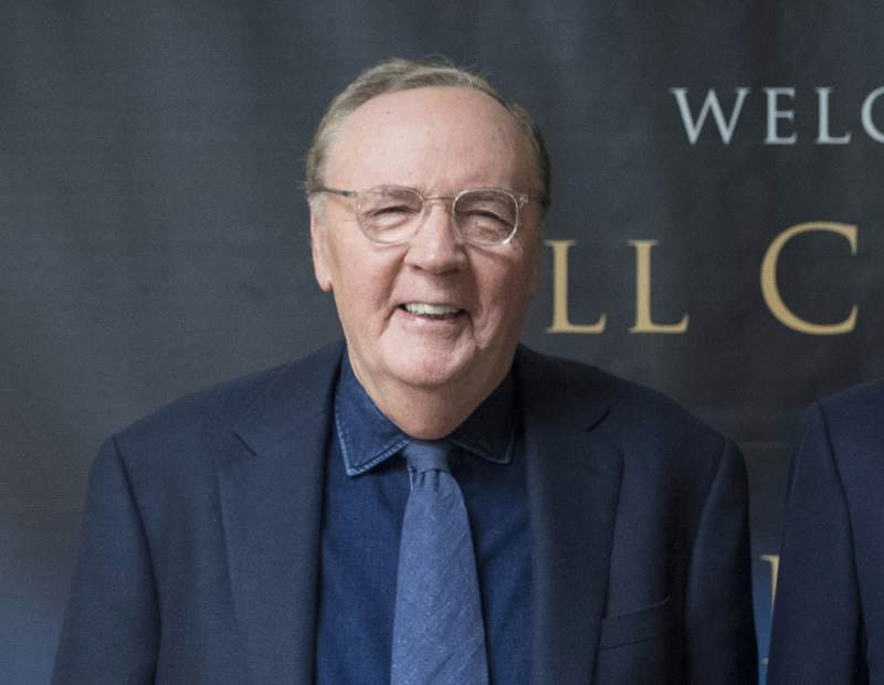 """FILE - Author James Patterson appears at an event to promote his joint novel with former President Bill Clinton, """"The President is Missing,"""" in New York on June 5, 2018. Patterson donated $1.5 million to Scholastic Book Clubs to launch The United States of Readers,"""" a classroom  program designed to address literacy inequity. (AP Photo/Mary Altaffer, File)"""