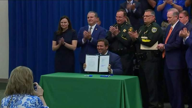 Florida Gov. Ron DeSantis signs controversial anti-riot bill into law